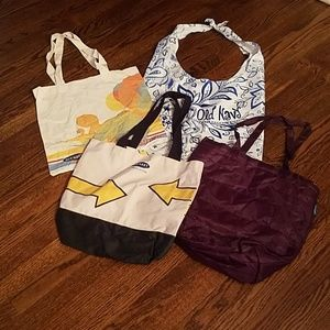 *FOUR* Old Navy Tote Bags!